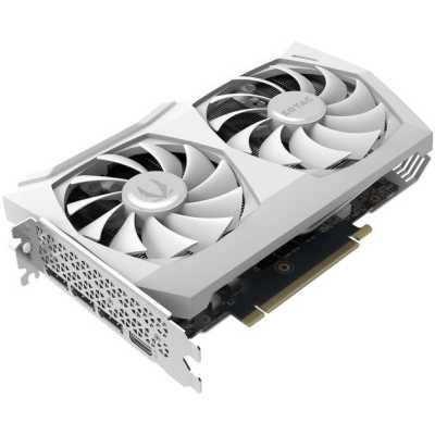 видеокарта Zotac nVidia GeForce RTX 3070 Twin Edge OC white edition 8Gb ZT-A30700J-10P